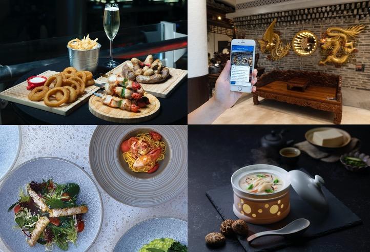 數碼港商場食府  結合創新科技塑造五感體驗